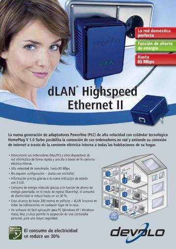 dLAN® Highspeed Ethernet II - Devolo