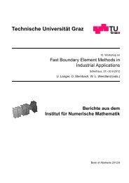 Book of Abstracts - Institut für Numerische Mathematik