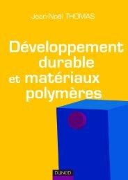 Developpement durables et materiaux polymeres - extrait - Numilog