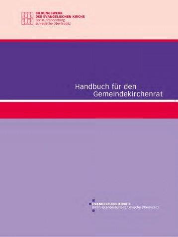 Handbuch für den Gemeindekirchenrat