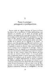 Pierre Bourdieu et la theorie du monde social - Numilog