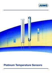 Platinum Temperature Sensors - Nuova Elva