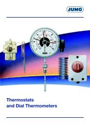 Thermostats and Dial Thermometers - Nuova Elva