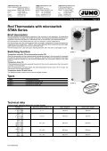 Thermostats and Dial Thermometers - Nuova Elva - Page 4