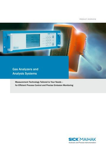 Product Overview Gas Analyzers - Nuova Elva