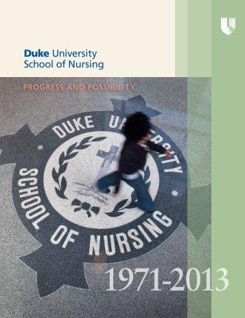 Read how it happened… - Duke University School of Nursing