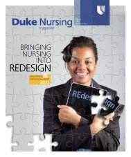 Winter 2012 - Duke University School of Nursing