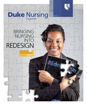 Winter 2012 - Duke University School of Nursing