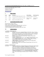 JACQUELINE FOWLER BYERS, Ph.D., RN, NEA-BC