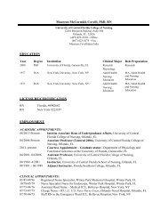 MAUREEN MCCORMICK COVELLI, Ph - UCF College of Nursing ...
