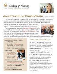 Executive Doctor of Nursing Practice - UCF College of Nursing ...
