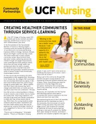 a publication of the college of nursing at the university of