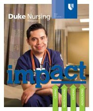 Impact - Duke University School of Nursing