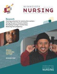 Minnesota Nursing ss07 - School of Nursing - University of Minnesota