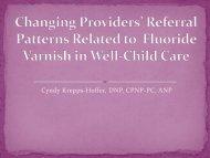 Changing Providers Attitudes Regarding ... - School of Nursing