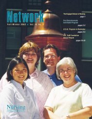 Fall/Winter 2002 - School of Nursing - University of Minnesota