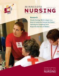 Research - School of Nursing - University of Minnesota