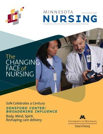 CHANGING FACE of NURSING - School of Nursing - University of ...