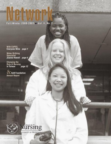 2000 SoN network, f-w - School of Nursing - University of Minnesota