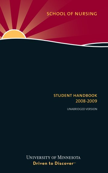 School of Nursing - University of Minnesota