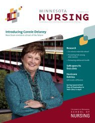 Introducing Connie Delaney - School of Nursing - University of ...