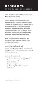 research at the school of nursing - School of Nursing - University of ... - Page 4