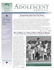 Volume 10, Issue 1: Spring 2004 - School of Nursing - University of ...