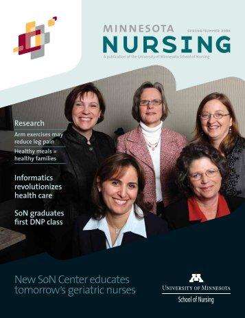 New SoN Center educates tomorrow's geriatric nurses - School of ...