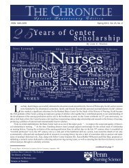 The Chronicle - Spring 2012.pdf - University of Pennsylvania School ...