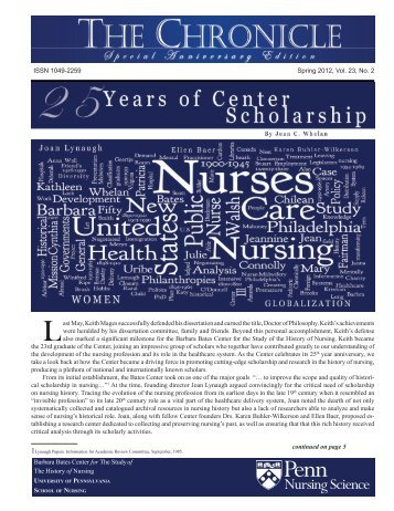 The Chronicle - Spring 2012.pdf - University of Pennsylvania School ...