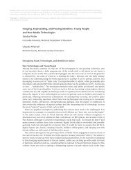 Imaging, Keyboarding, and Posting Identities:  Young People and ...