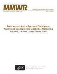 Prevalence of Autism Spectrum Disorders — Autism - Centers for ...