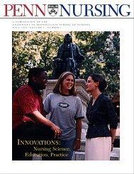 Innovations: Nursing Science, Education, Practice - University of ...