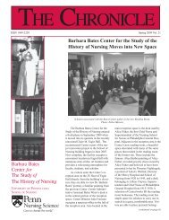 Barbara Bates Center for the Study of the History of Nursing Moves ...