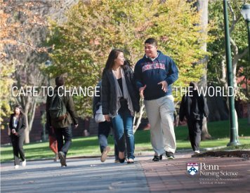 Penn Nursing Undergraduate Brochure - University of Pennsylvania ...
