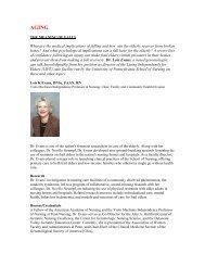 vignettes revised _2_.doc - University of Pennsylvania School of ...
