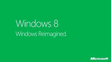 Windows 8 Getting Started