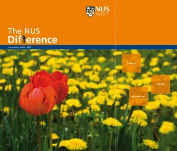 Download Annual Report in PDF - NUS - Home