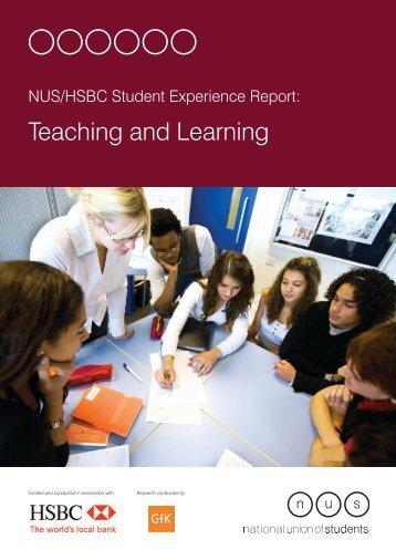 Teaching and Learning - National Union of Students