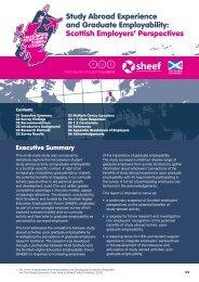 Study Abroad Experience and Graduate Employability: Scottish ...