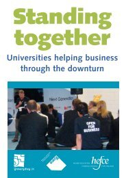 Universities helping business through the downturn - National Union ...