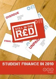 NUS Scotland's Still in the Red report - National Union of Students