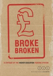 Broke and Broken - National Union of Students