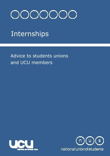 Internships - National Union of Students