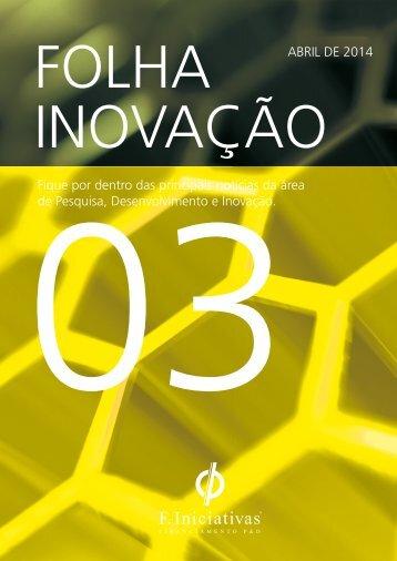 Folha Inovação - 3ª Edição - F. Iniciativas Brasil