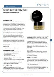 Epoch® Baobab Body Butter - Nu Skin