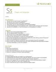 S3 Fragen & Antworten mehr - Nu Skin