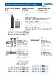 Aquapro-Wasserenthärter PN 6 Aquapro ... - R. Nussbaum AG