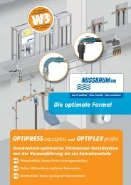 Die optimale Formel - R. Nussbaum AG