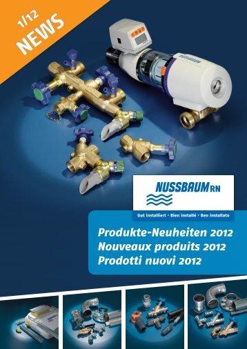 NEWS 1/12 Prodotti nuovi - R. Nussbaum AG